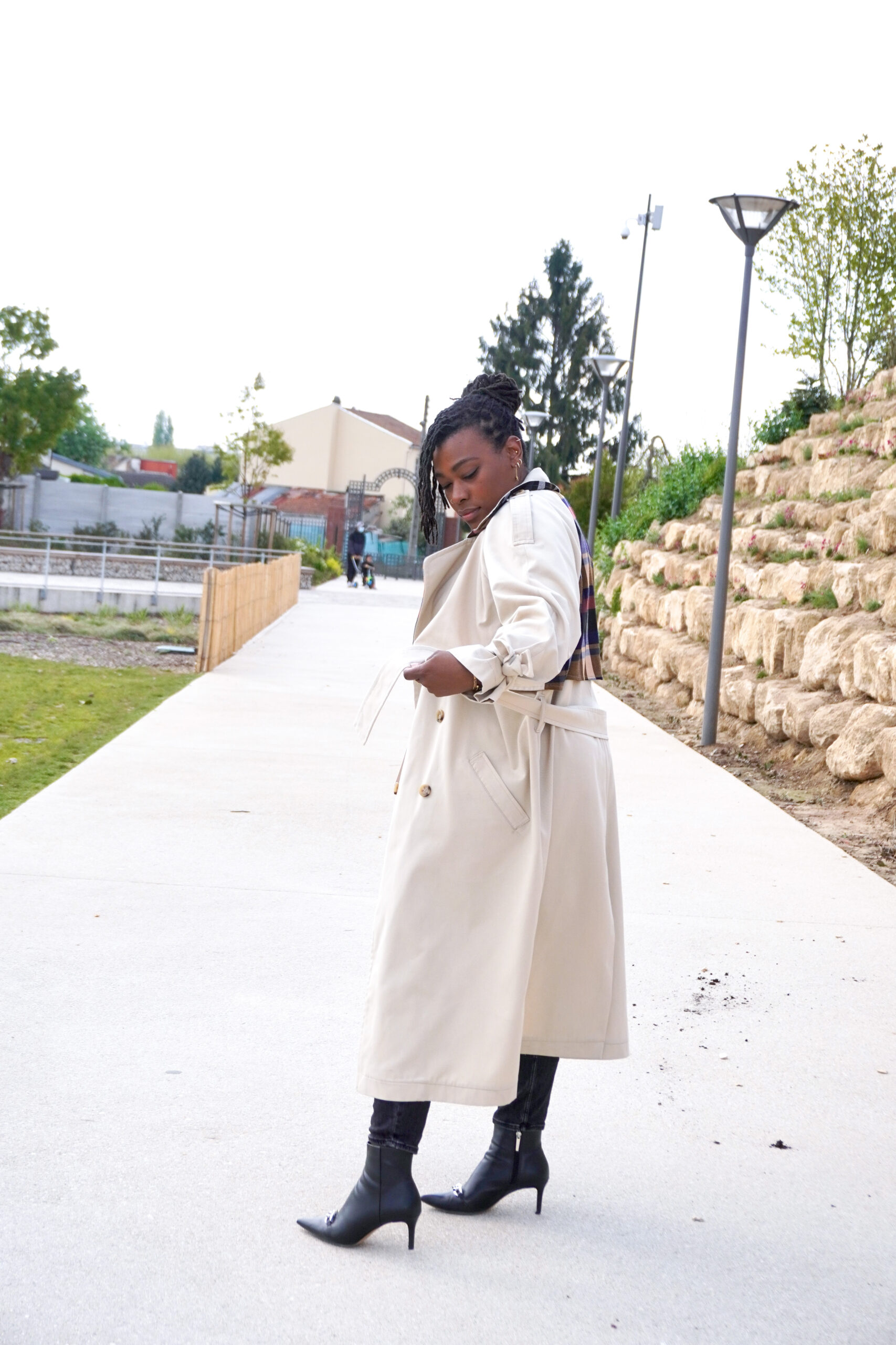 Trench haute couture